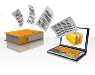 Stocker les papiers administratifs