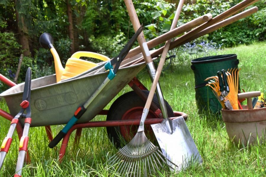Stocker matériel de jardin (hivernage)